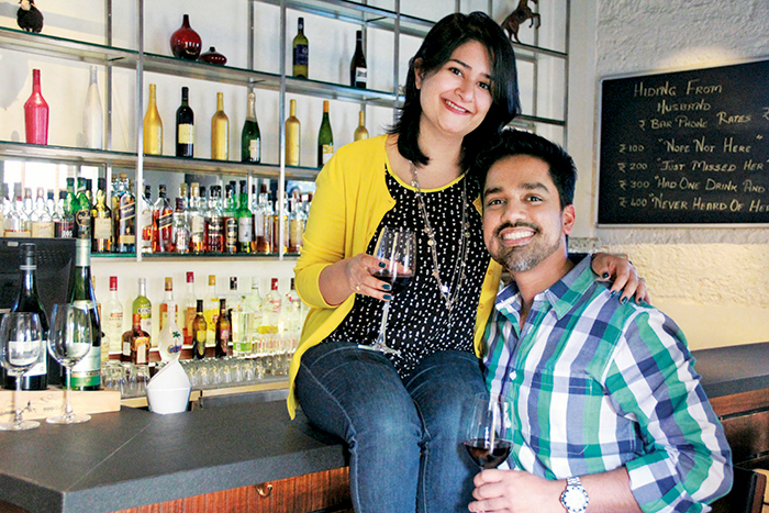 Goa-based Sabreen and Prahlad Sukhtankar, The Black Sheep Bistro, Goa