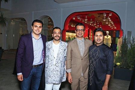 Samegh Batra, Amit Aggarwal, Amit Hansraj, Anirudh Birla