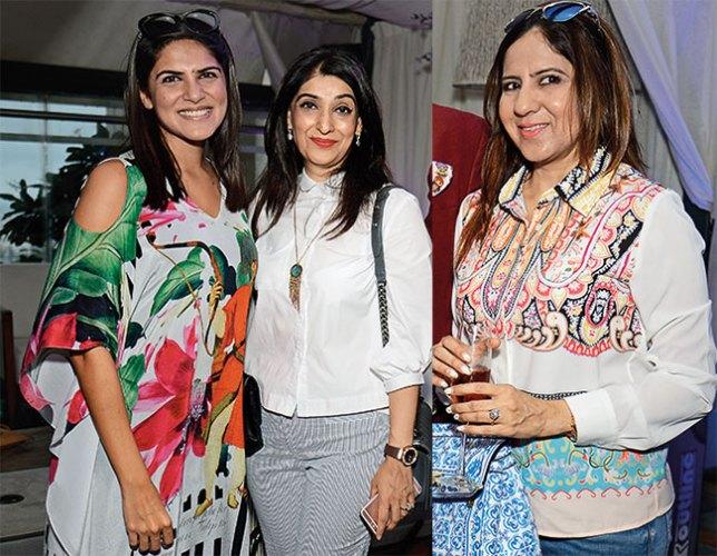 Sanam Sippy, Azmina Rahimtoola, Priyanka Thakur