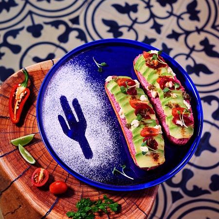 Sanchez Avocado Toast Theory - Smashed Beets & Cheese