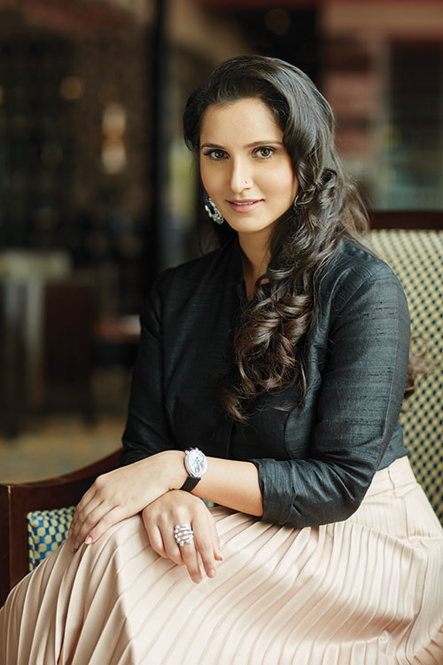 "f84e3d82e5d1 Sania Mirza  ""The pressure to perform is always there."""