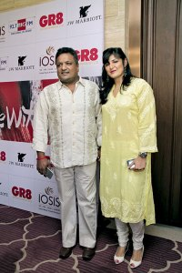 Sanjay and Anu Gupta