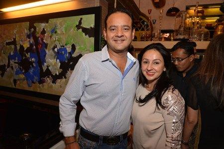 Sanjeev and Penny Patel