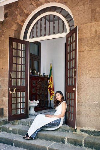 Saroja Sirisena: a global nomad