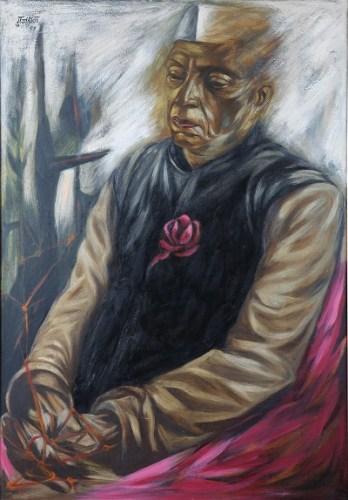 Untitled (Portrait of Nehru)