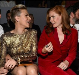 Scarlett Johansson, Amy Adams at Tom Ford