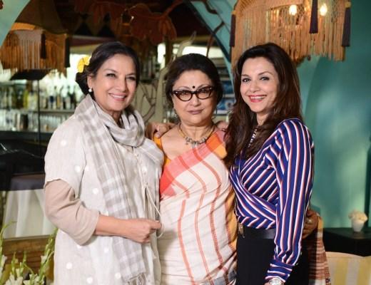 Shabana Azmi, Aparna Sen, Lillete Dubey