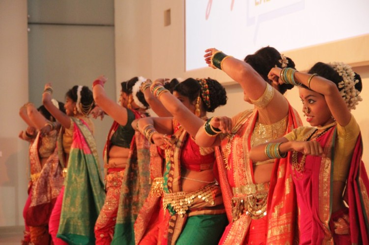 The Lavani performance at the Godrej Culture Lab