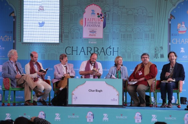 Colin Thubron, Gerard Russell , Alex Shoumatoff, William Dalrymple, Christina Lamb, Salil Tripathi and Anthony Sattin