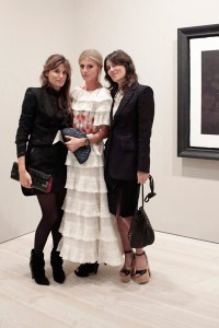 Jemima Khan, Laura Bailey, Bella Freud