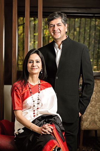 Seema and Vikram Chandra: channelling success