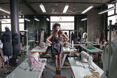 S&N Drape shot in their Noida studios