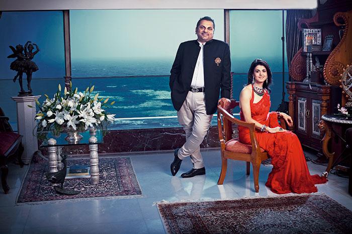 Sheetal and Biren Vaidya, Rose, The Luxury Jewellery Salon
