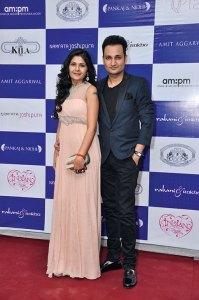 Shibani and Rahul Rastogi