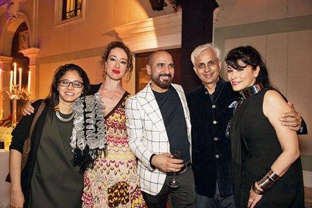 Shilpa Gupta, Martina Mazzotta, Rashid Rana, Mohit Gujral