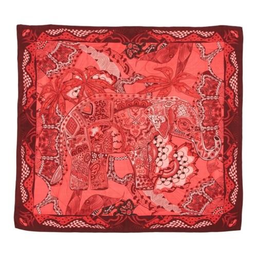 Shingora silk pocket square
