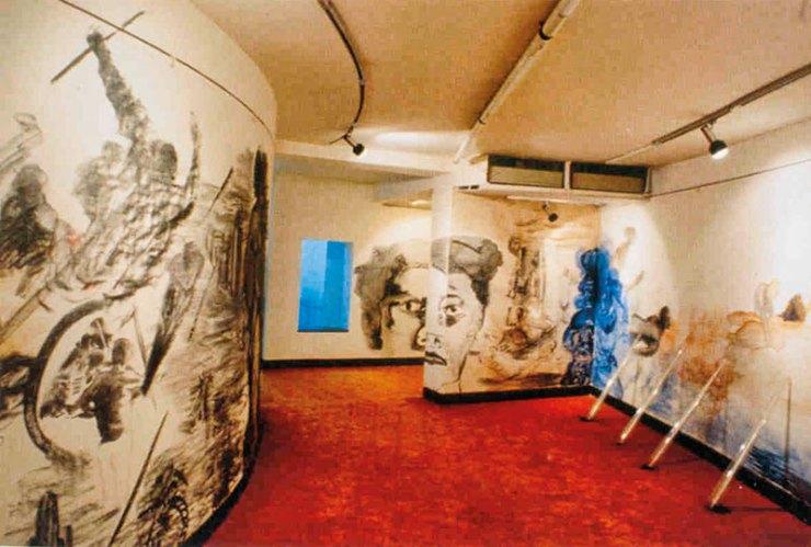 Nalini Malani, City of Desires, 1992, digital colour video, sound; duration: 18 minutes
