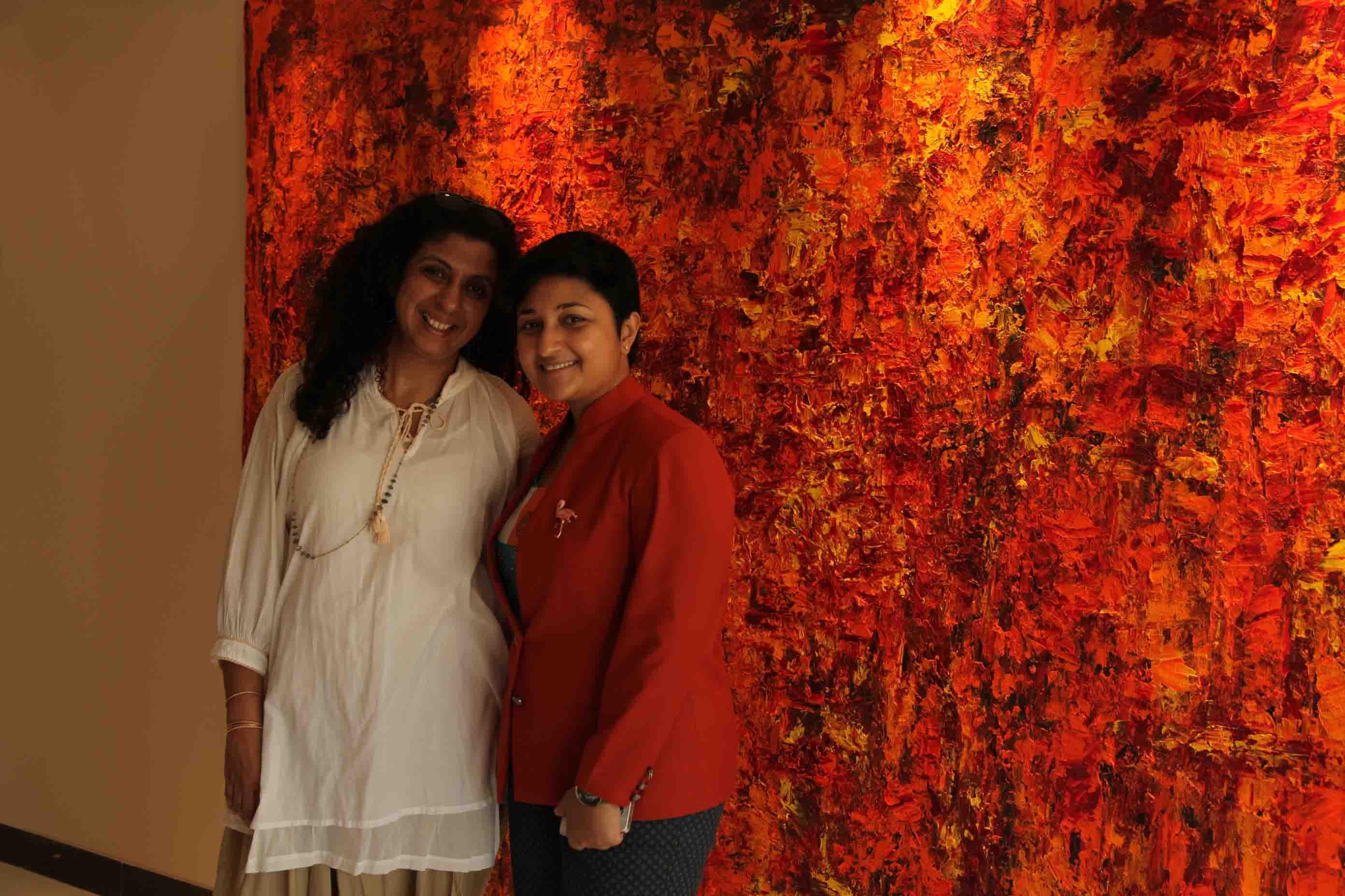Shireen Gandhy, Sharmistha Ray, Bellevue Brunches, Arty Hearty