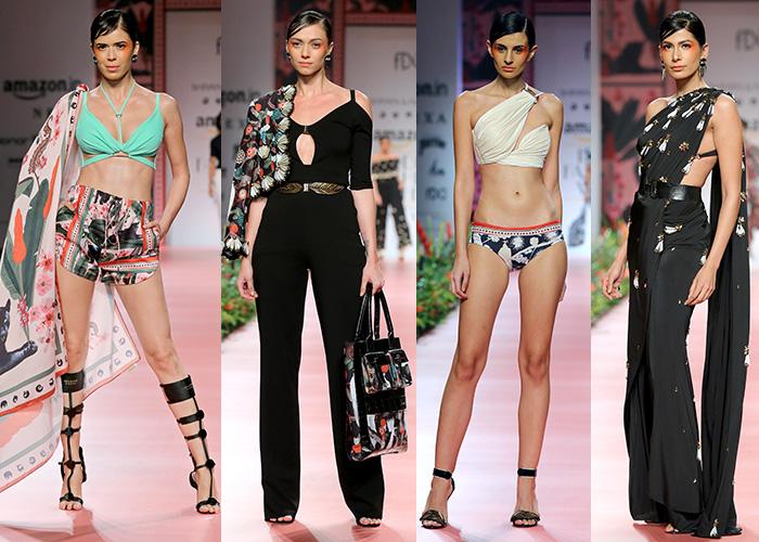 Abhi Singh, AIFW, AIFWSS18, Amazon India Fashion Week, Amazon India Fashion Week Spring Summer 2018, Anju Modi, Bhanuni, Designer, Dhruv Kapoor, Ekru, Fashion, Featured, Huemn, Kavita Bhaartia, Madhu Jain, Model, Online Exclusive, Payal Jain, Shivan and Narresh,