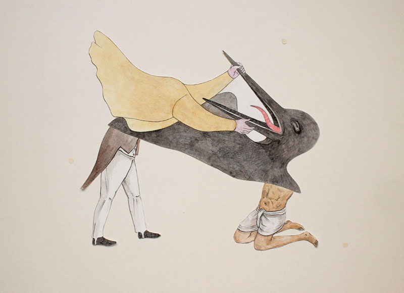 Don't Yawn!, 2014, Shrimanti Saha
