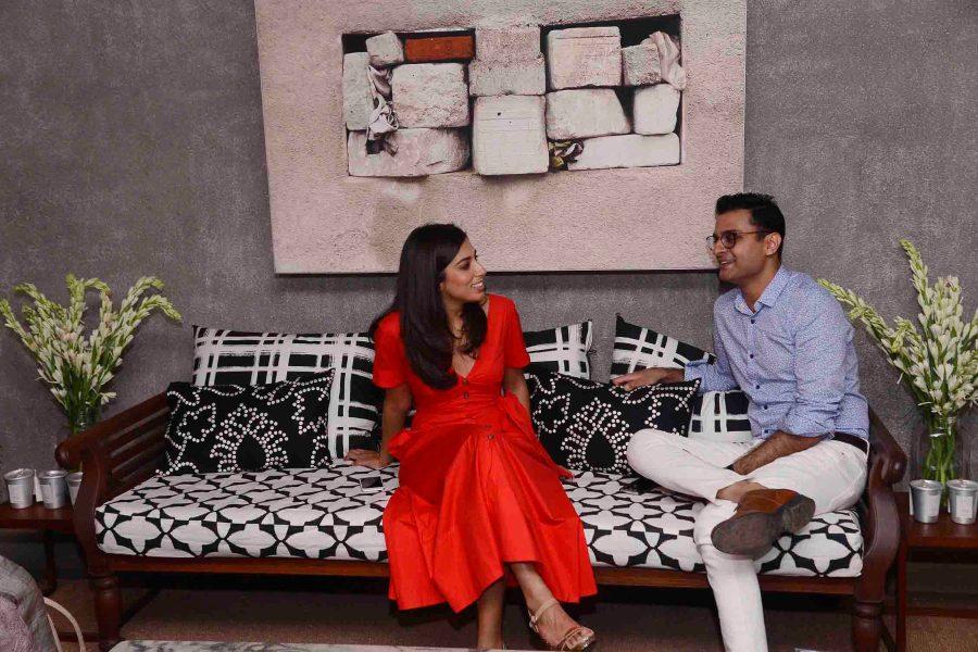 Smita Khanna and Hemant Purohit