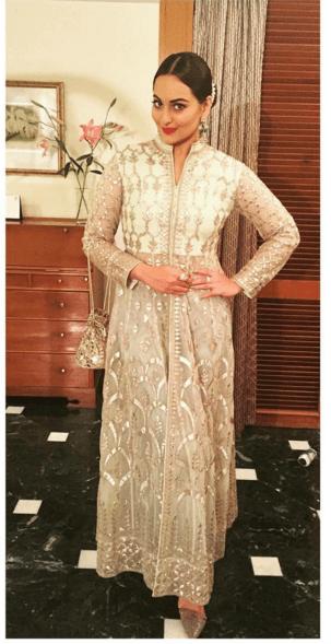 Sonakshi Sinha in Anita Dongre