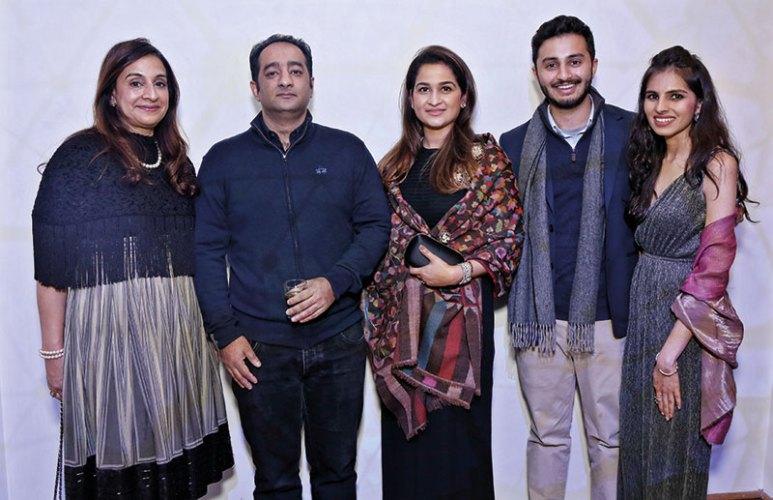 Sonal Ambani, Rahul and Shefali Jain, Amar Ambani, Niharika Anand