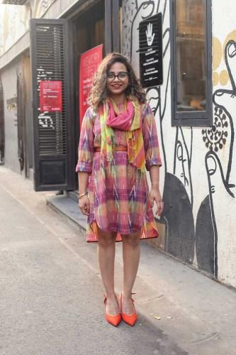 Sonam Jaisingh, fashion consultant and blogger