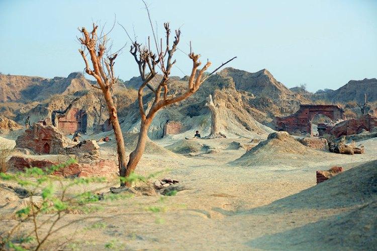 The undulating landscape has its unique appeal