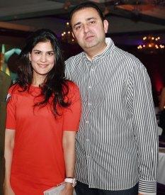 Sonia and Shahrukh Passi