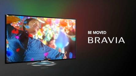 Still from the Sony Bravia ad