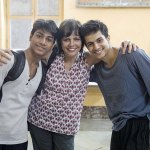 Sooni Taraporevala with Amir and Manish, Yeh Ballet