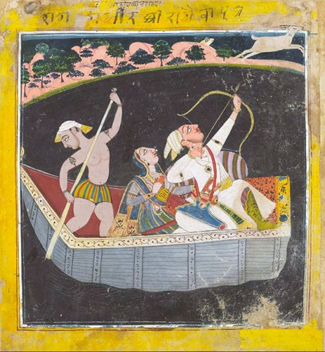 A Basohli painting that was the top lot at Saffronart's December 2015 auction