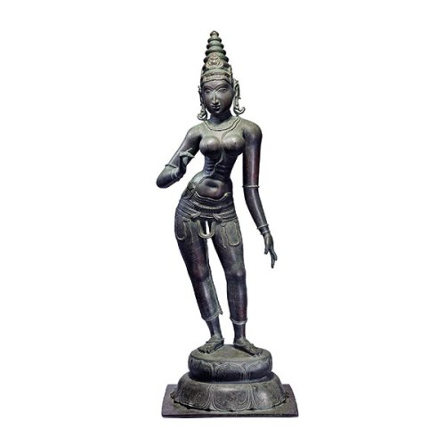 Parvati bronze statue that Saffronart sold for 6.4 crore rupees
