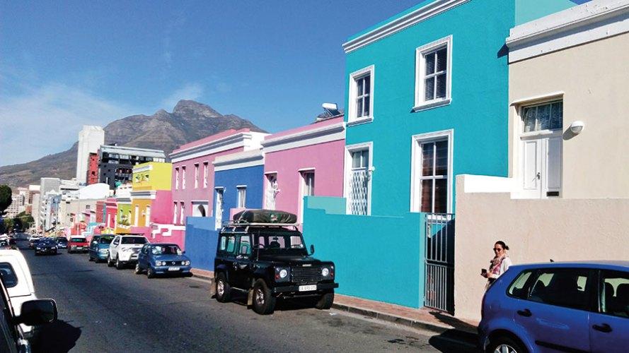 A street in bo-kaap
