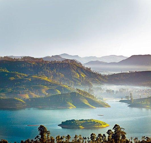 View from Dunkeld cottage, Ceylon Tea Trails