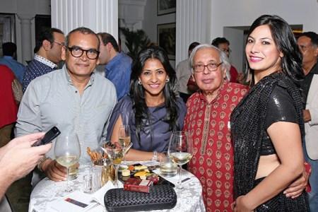 Subodh Gupta, Aparajita Jain, Ashok Vajpeyi, Fatima Karan