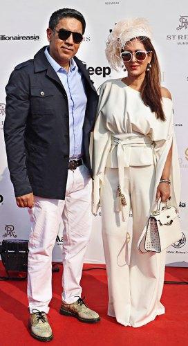 Sumit Puri and Pria Kataria Puri