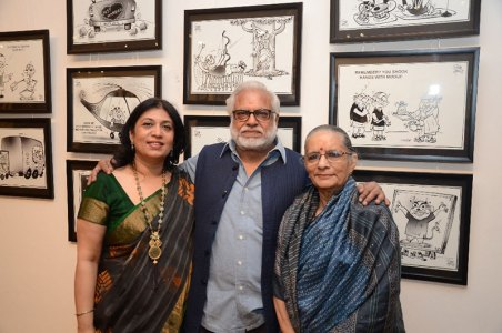 Sunaina Anand, Manu and Madhvi Parekh