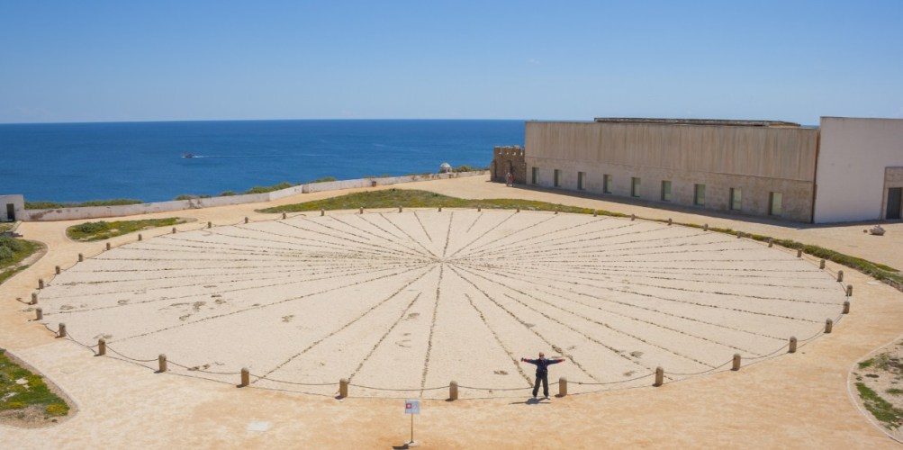 Sun-clock at the Fort of Sagres
