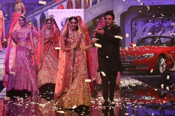 Suneet Verma BMW India Bridal Fashion Week New Delhi