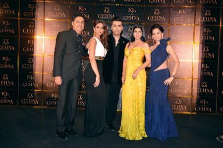 Sunil Datwani, Ileana D'Cruz, Karan Johar, Nimrat Kaur, Kiran Datwani