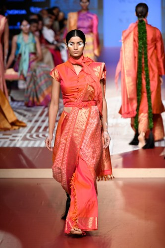 Sunita Shanker for RmKV Silks At Lakmé Fashion Week Winter/Festive '18