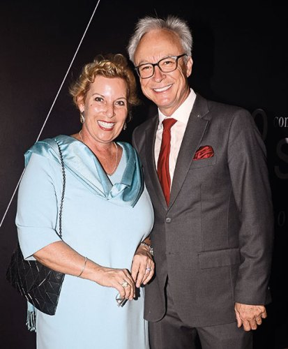 Suzanne and Roland Folger