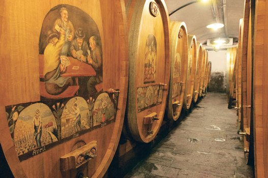 Wine cellars of yore