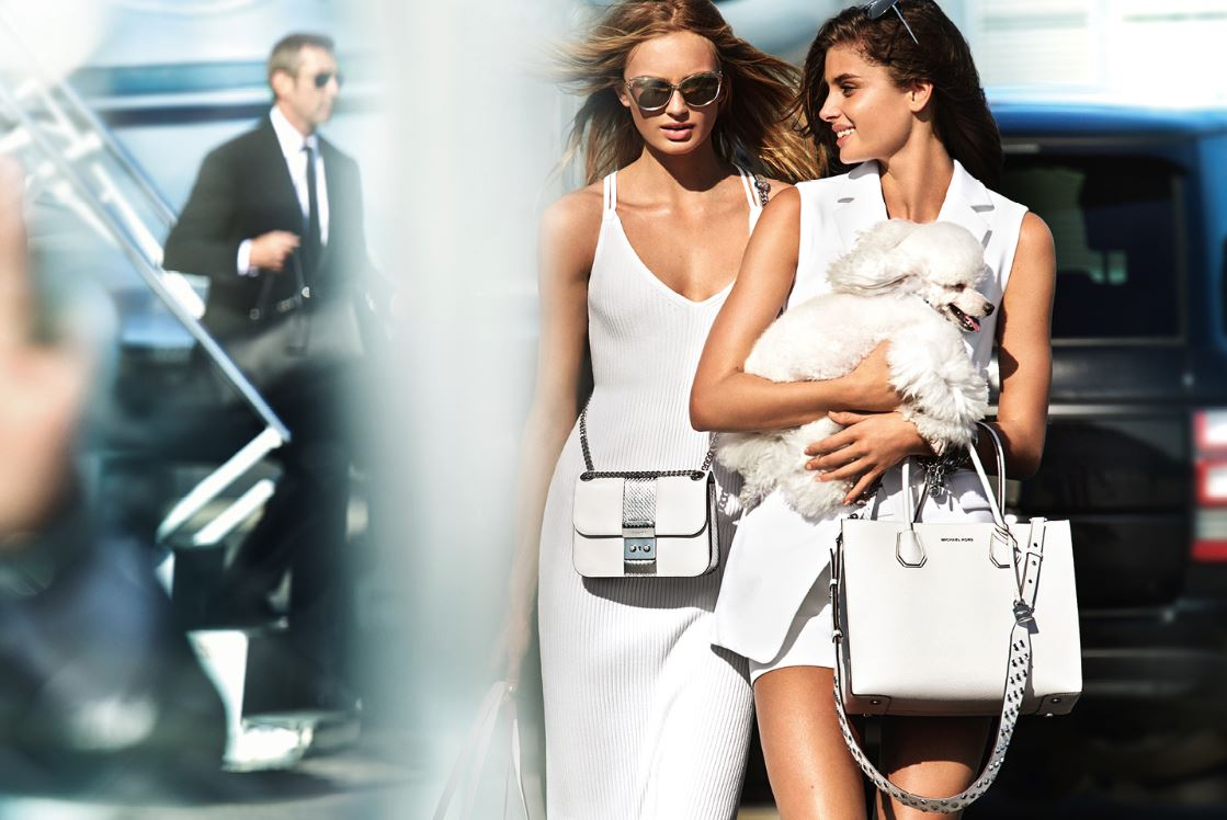 Romee Strijd, Taylor Hill, Michel Kors, Fashion, Spring 2017 campaign,