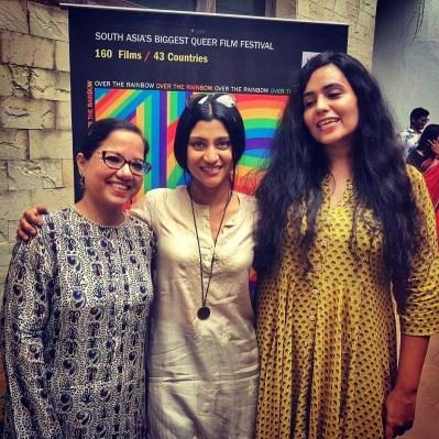 From Left to Right: Tanuja Chandra, Konkona Sen Sharma and Ghazal Dhaliwal