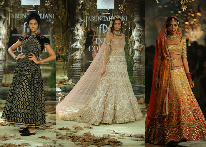 801f040f5e Set in a secret garden kissed by the brush of autumn Tarun Tahiliani s   Tarakanna  was an ode to the rich tapestry of drapes