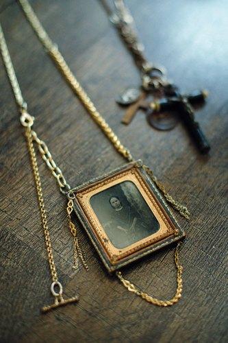 Maria Zureta vintage necklace, from a London flea market