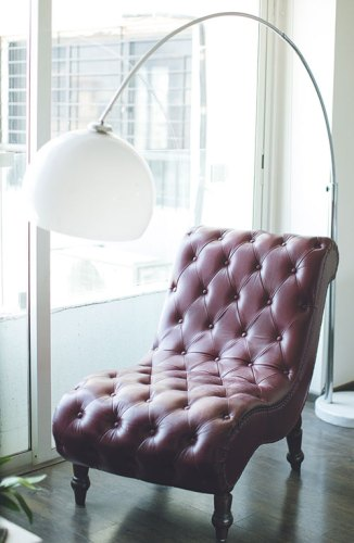 Leather chair, desgined by Lakhani